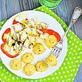Boulettes pommes de terre et choux fleur au comté et au parmesan