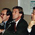 Colloque avec B.Kouchner décembre 1989