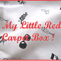 * My Little Red Carpet Box *