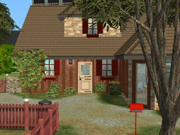 La bergerie modifi e maisons deco sims2 for Sims 4 meuble a telecharger