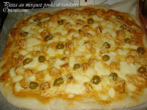 pizza merguez