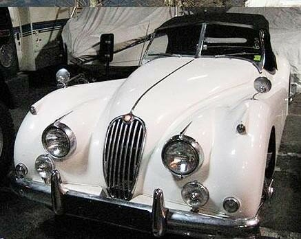 JAGUAR - XK 140 type C roadster - 1956