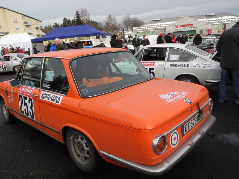 rallye monte carlo historique 2014 n 253 bmw 2002 ti 1971 auto passion vh. Black Bedroom Furniture Sets. Home Design Ideas