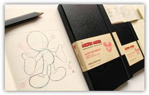 moleskine mickey collection
