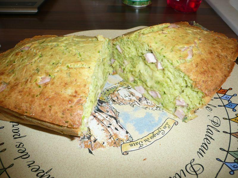 Cake Pain De Mie Chorizo Poivron