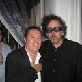 Tim Burton and hugo Mayer