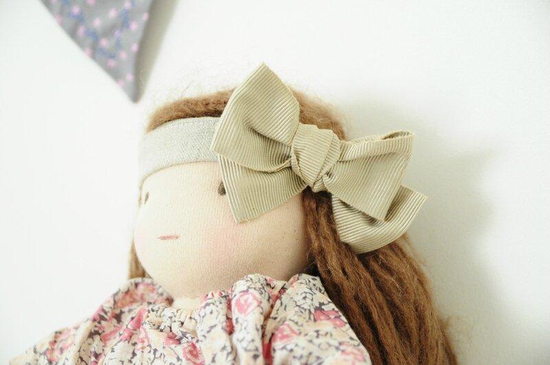 nœud dans les cheveux