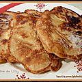 Äpfelkiechla ou toatsch à la pomme