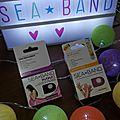 Sea band : les bracelets pour dire non aux nausées