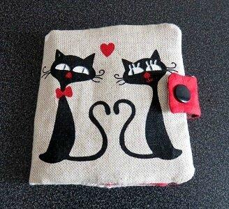 Pochette à petits accessoires tricot