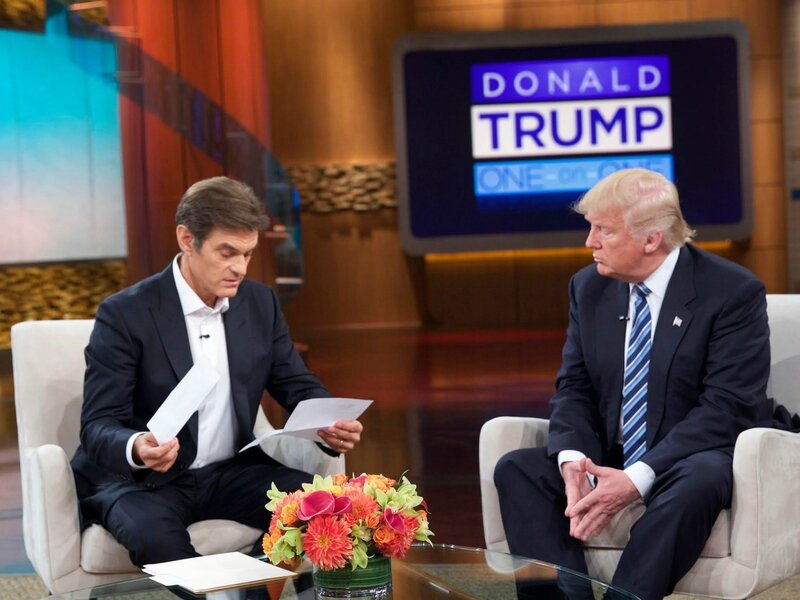Donald Trump on Dr Oz show