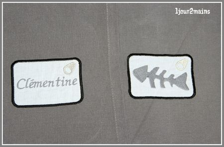 serviettes de table sardine 2