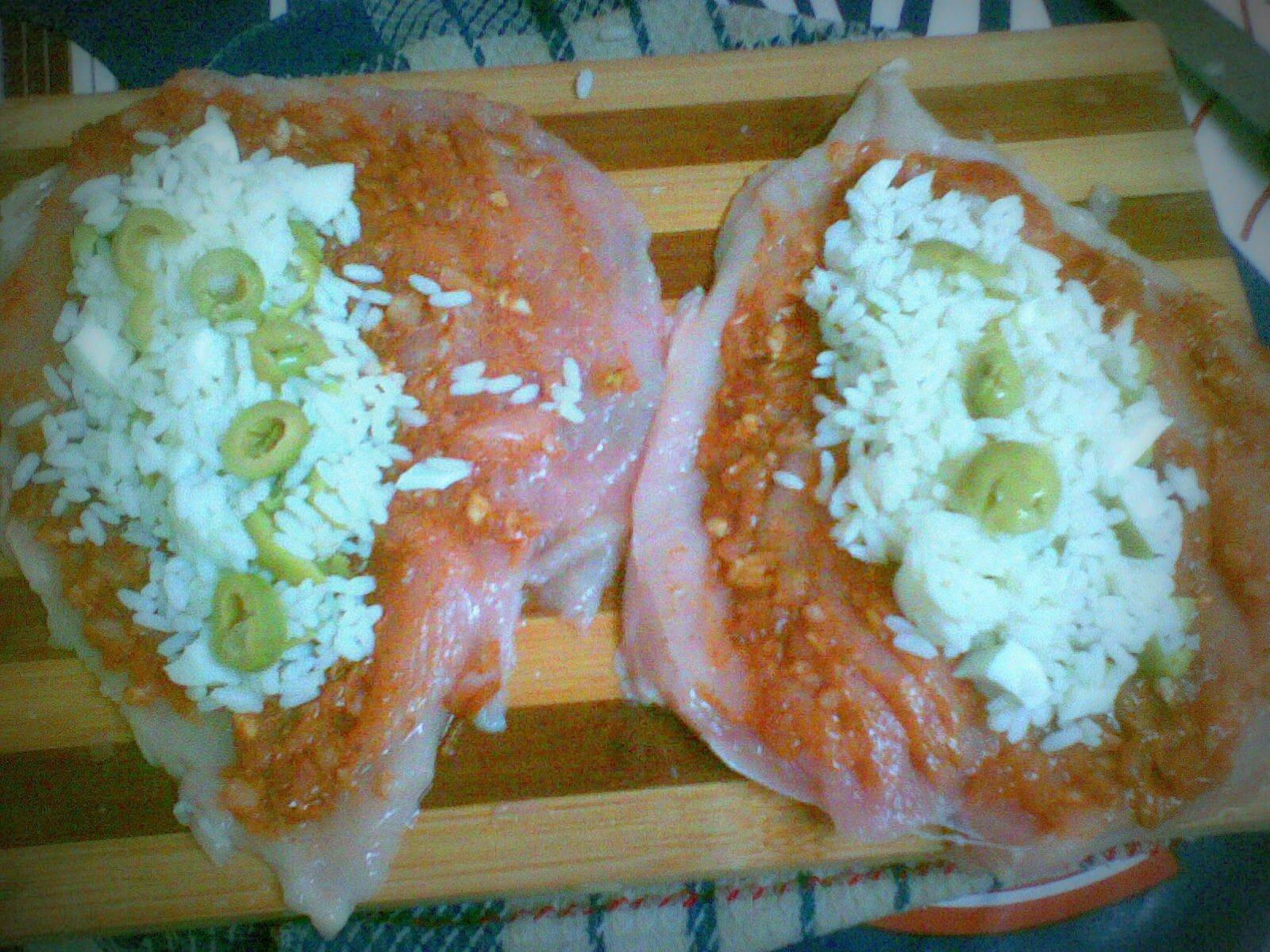Blanc de poulet farci la cuisine d 39 oum yasmine001 - Cuisson blanc de poulet au four ...