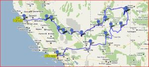 carte californie 2