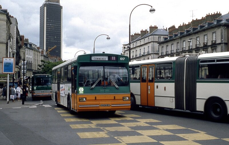 le tramway de nantes seconde poque depuis 1985 transporturbain le webmagazine des. Black Bedroom Furniture Sets. Home Design Ideas