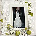 Robe de mariée scrap digital de kokhine