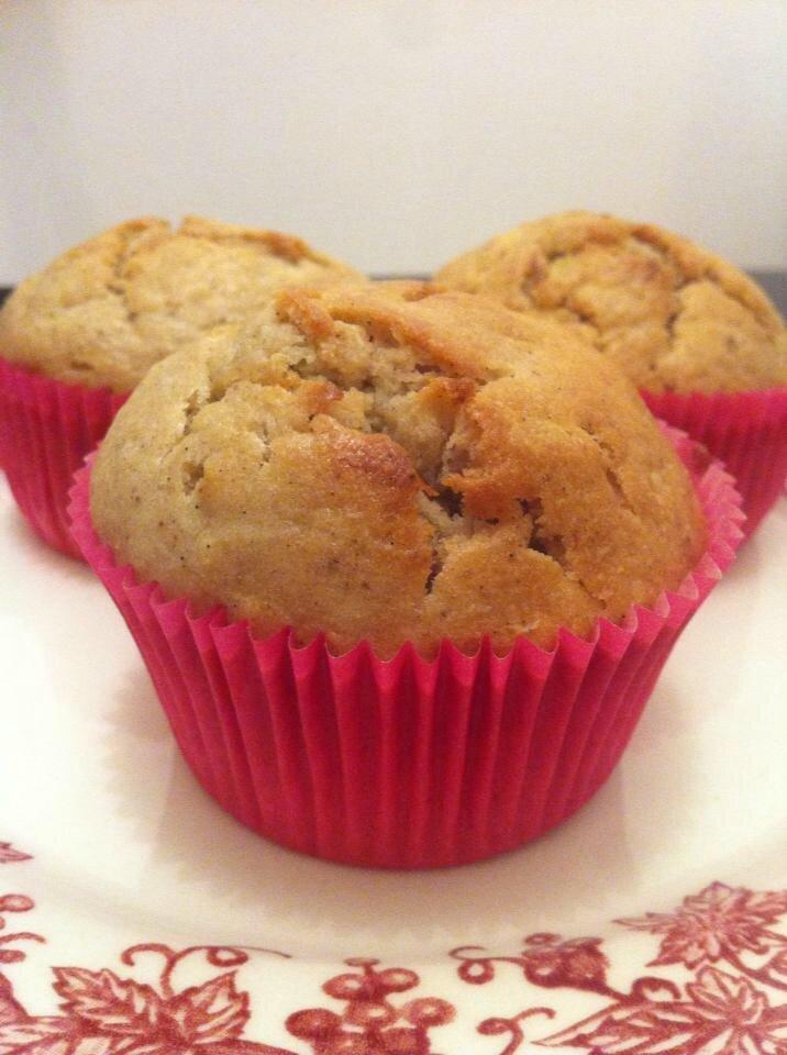 Muffins vegan à la banane 83770098_o