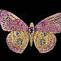 Wallace chan, butterfly brooch