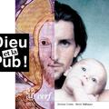 Dieu et la Pub - Concept de couv et mise en page