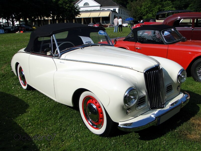 sunbeam alpine mkI 1953 a
