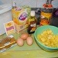 Ccake à l'ananas et au rhum