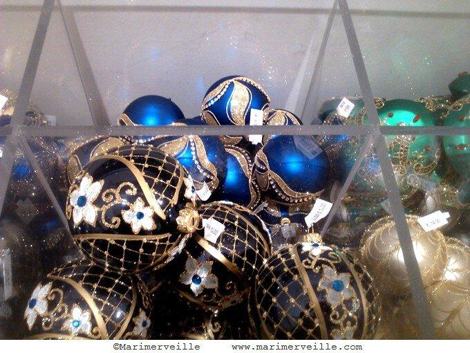 Boules de Noël 7 le bon marché - marimerveille