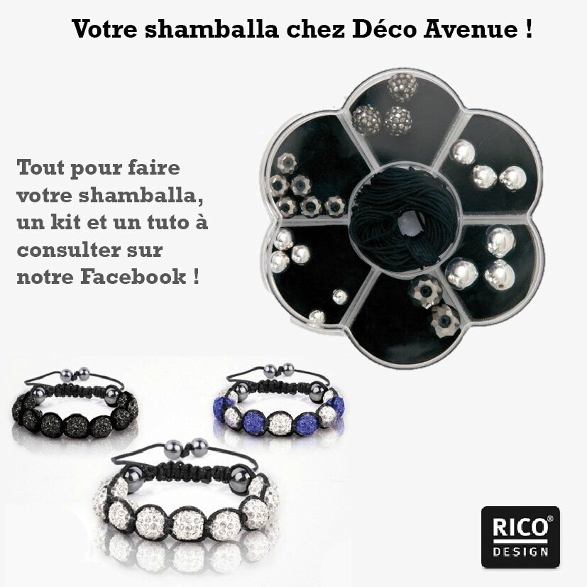 faites votre shamballa chez d co avenue decoavenue le blog. Black Bedroom Furniture Sets. Home Design Ideas