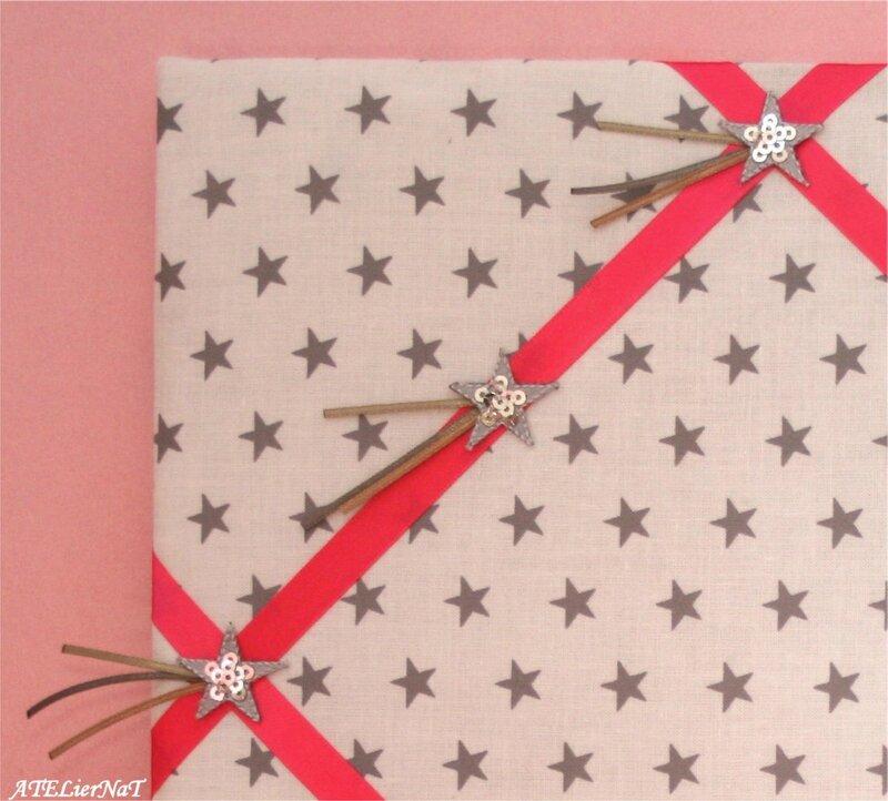 Cadre barrettes étoiles2