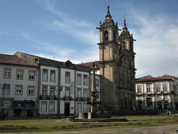 Portugal - Braga eglise santa cruz