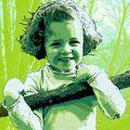 Camille en vert