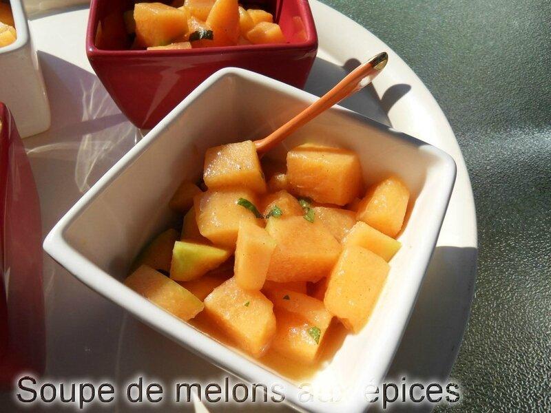 soupe de melons aux épices1