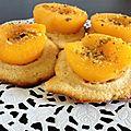 ♥ pizzetta abricot/amande