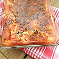 Clafoutis aux tomates cerise, olives § parmesan