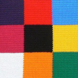 Couverture bébé Elmer détails 3x3 (1)