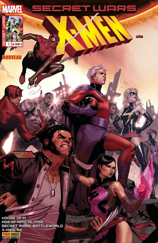secret wars x-men 1