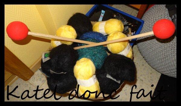 Aiguilles à tricoter géantes