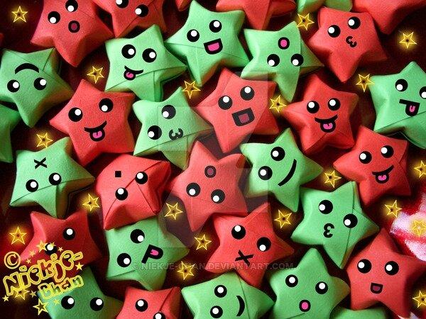 __lucky_christmas_stars___by_niekje_chan-d1racc4