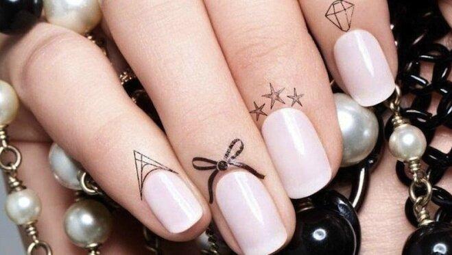 tatouage cuticules
