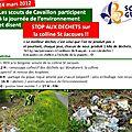 Samedi 24 mars : journée environnement à st jacques