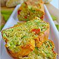 Cake ricotta, fèves et tomates: