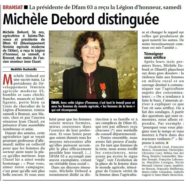 Légion d'honneur DFAM 03 Michele Debord 9nov15 la montagne