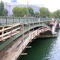 Le pont Sully se refait une beauté automnale !