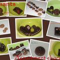 Aimants asssortiment chocolats