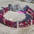 bracelet fushia