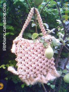Sac AS en macramé