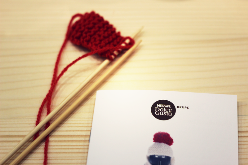 first time i knit