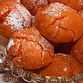 Amaretti à l'orange