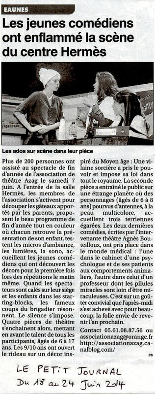 article Le Petit Journal
