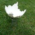 Artiste plasticienne de porcelaine