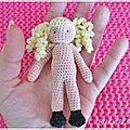 My tiny doll au crochet